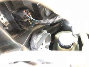 Stekker Volvo C30 koplampunit, nu vast