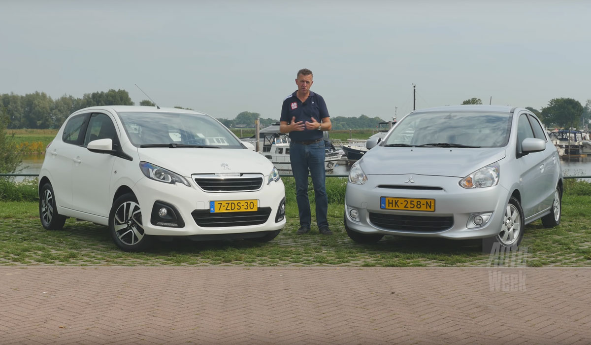 Test Peugeot 108 vs. Mitsubishi Space Star