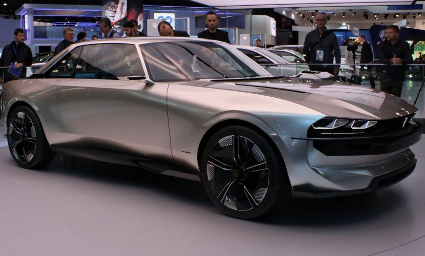 Peugeot E-Legend Autosalon Parijs 2018