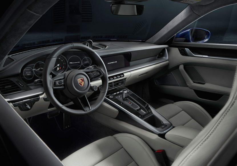 Interieur Porsche 911 Carrera 4s (992)