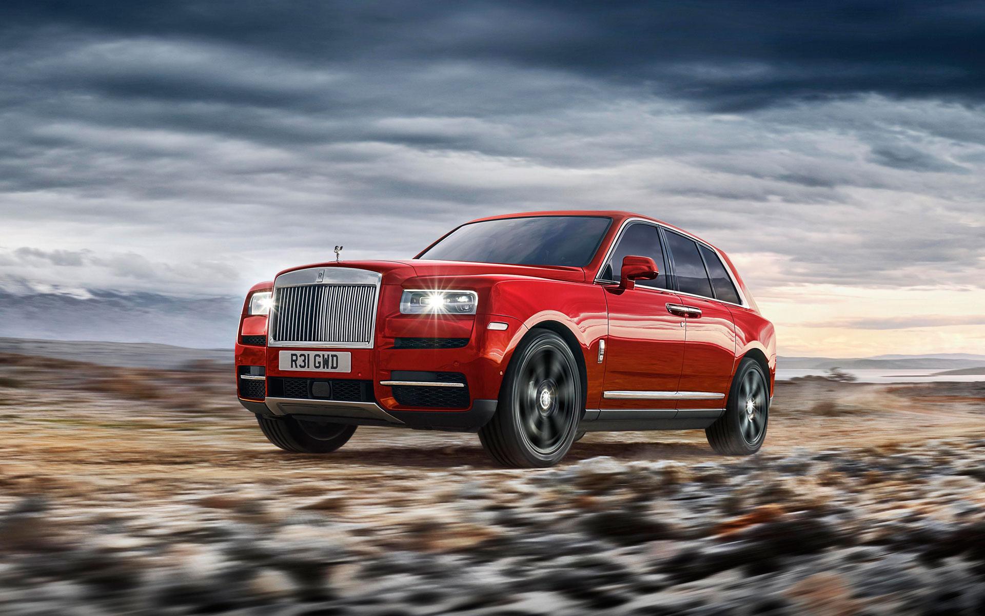 Test Rolls-Royce Cullinan 2018