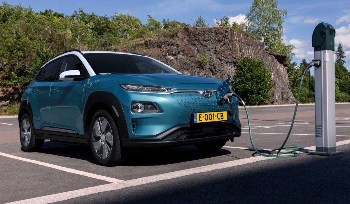 Auto met 4% bijtelling 2019: Hyundai Kona Electric