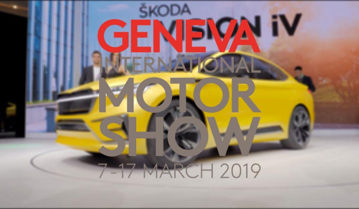 Skoda Vision iV Geneve 2019
