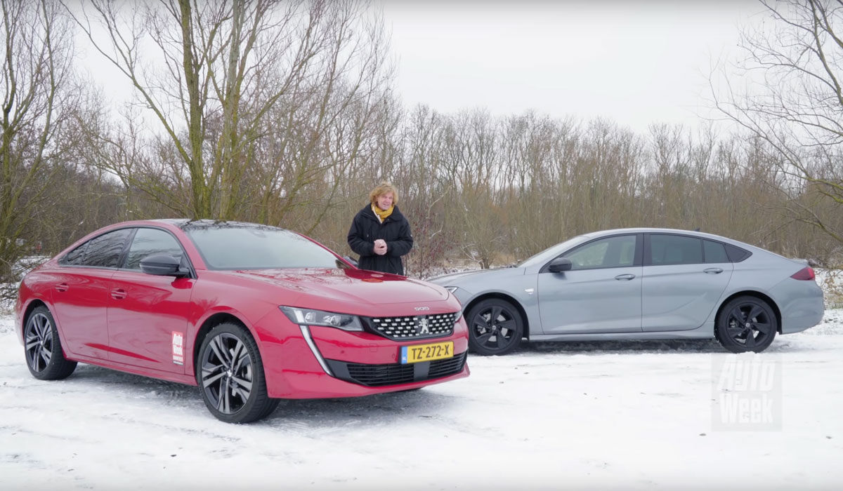 Test Peugeot 508 vs Opel Insignia 2019