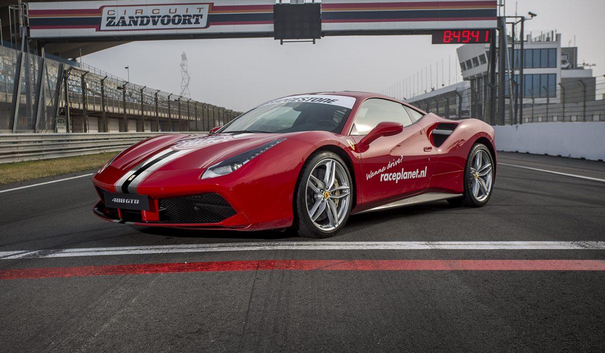 Ferrari 488 GTB Race Planet Zandvoort