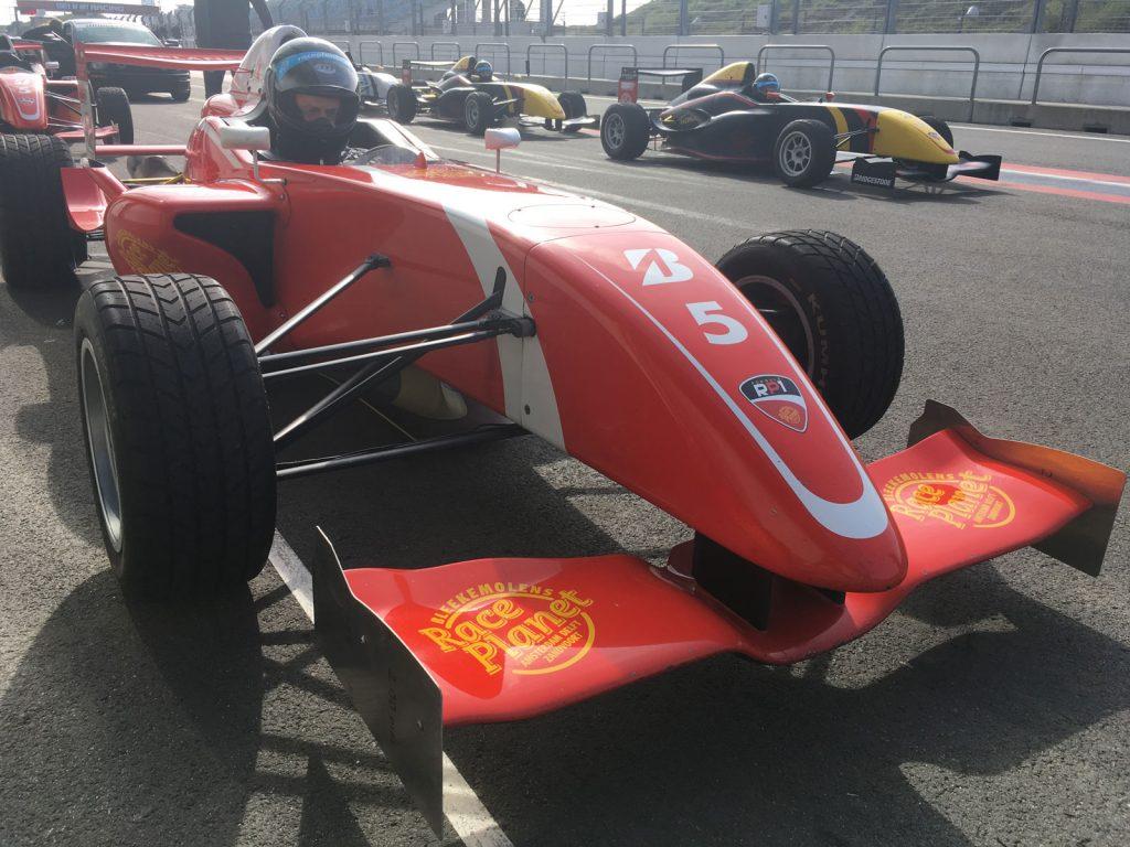 Formule-RP1-wagens Race Planet Zandvoort