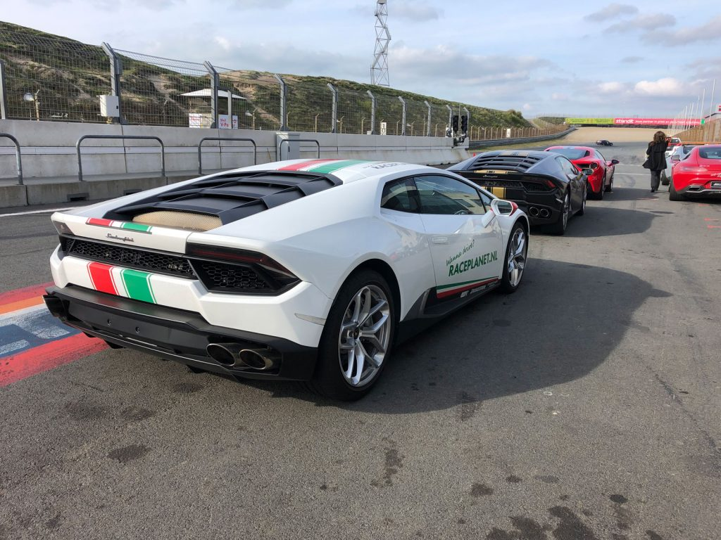 Lamborghini Huracan van Race Planet