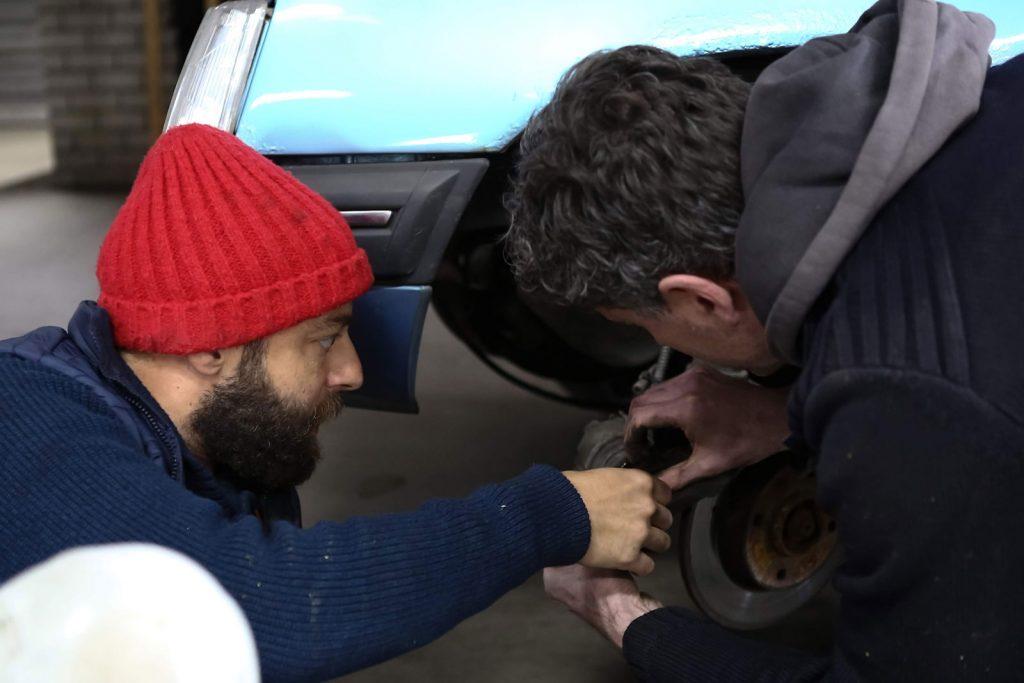 remmen demonteren Peugeot