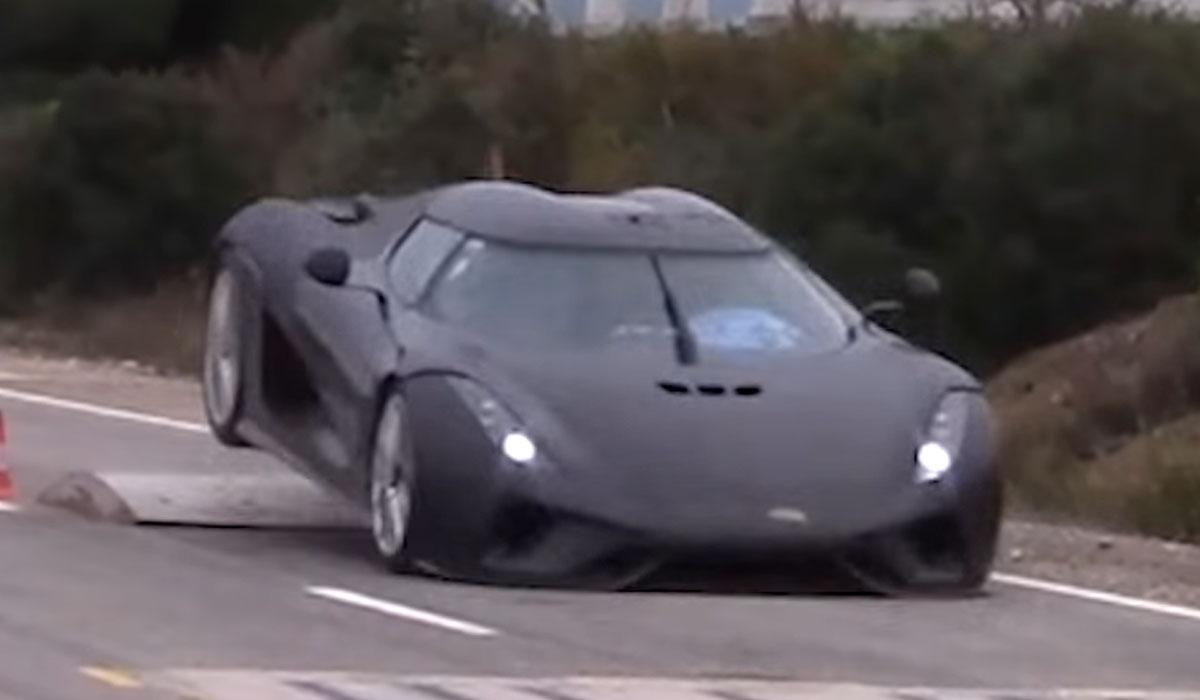 Test Koenigsegg Regera