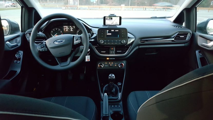 Dashboard Ford Fiesta 1.1 2018