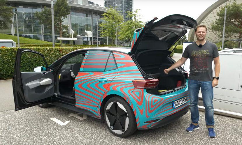 test Volkswagen ID3 bagageruimte