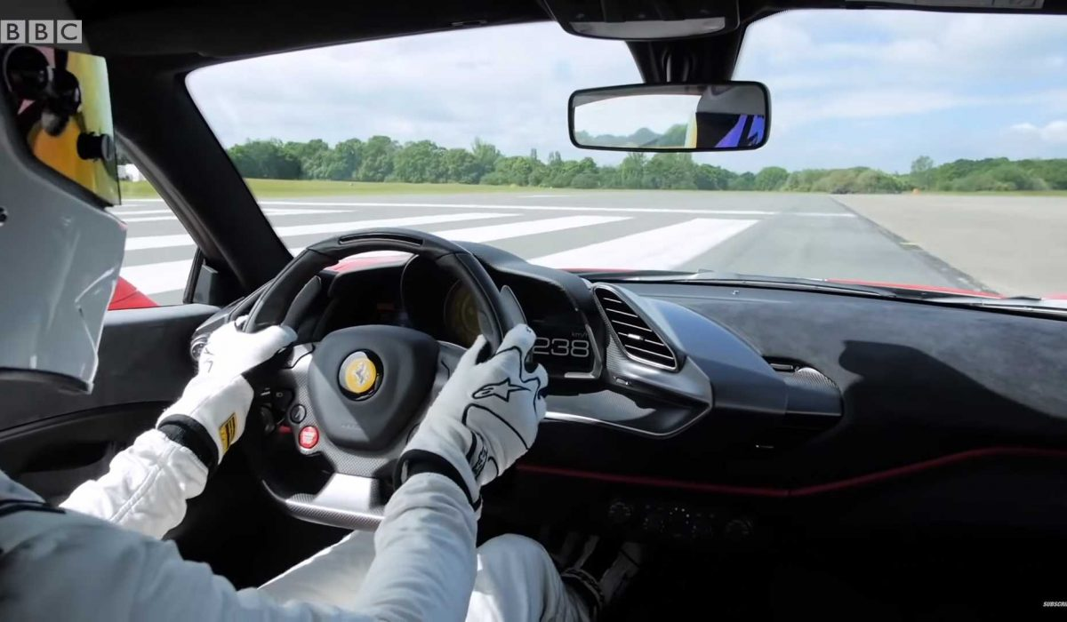 Stig Top Gear Ferrari 488 Pista