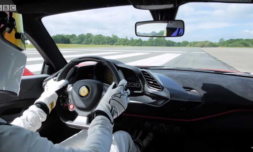 Stig Top Gear Ferrari 488 Pista
