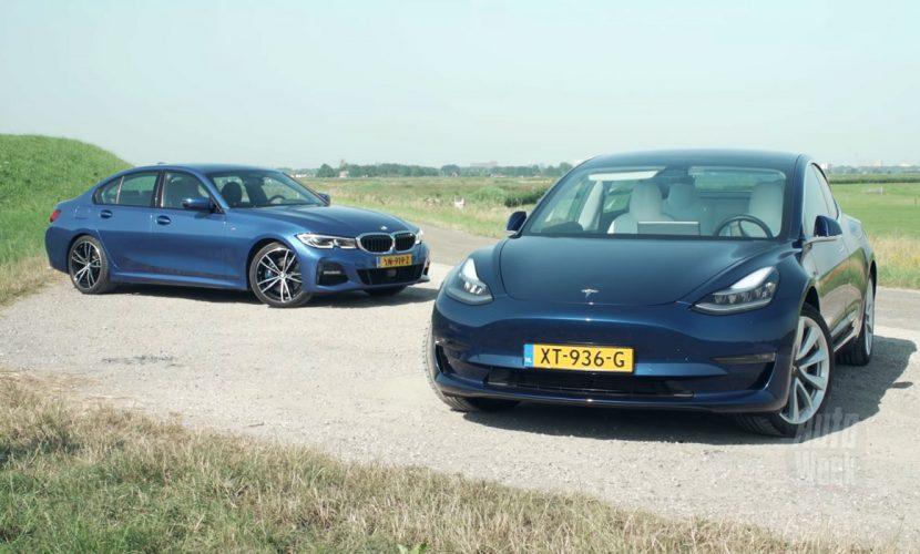 Test BMW 330i vs Tesla Model 3