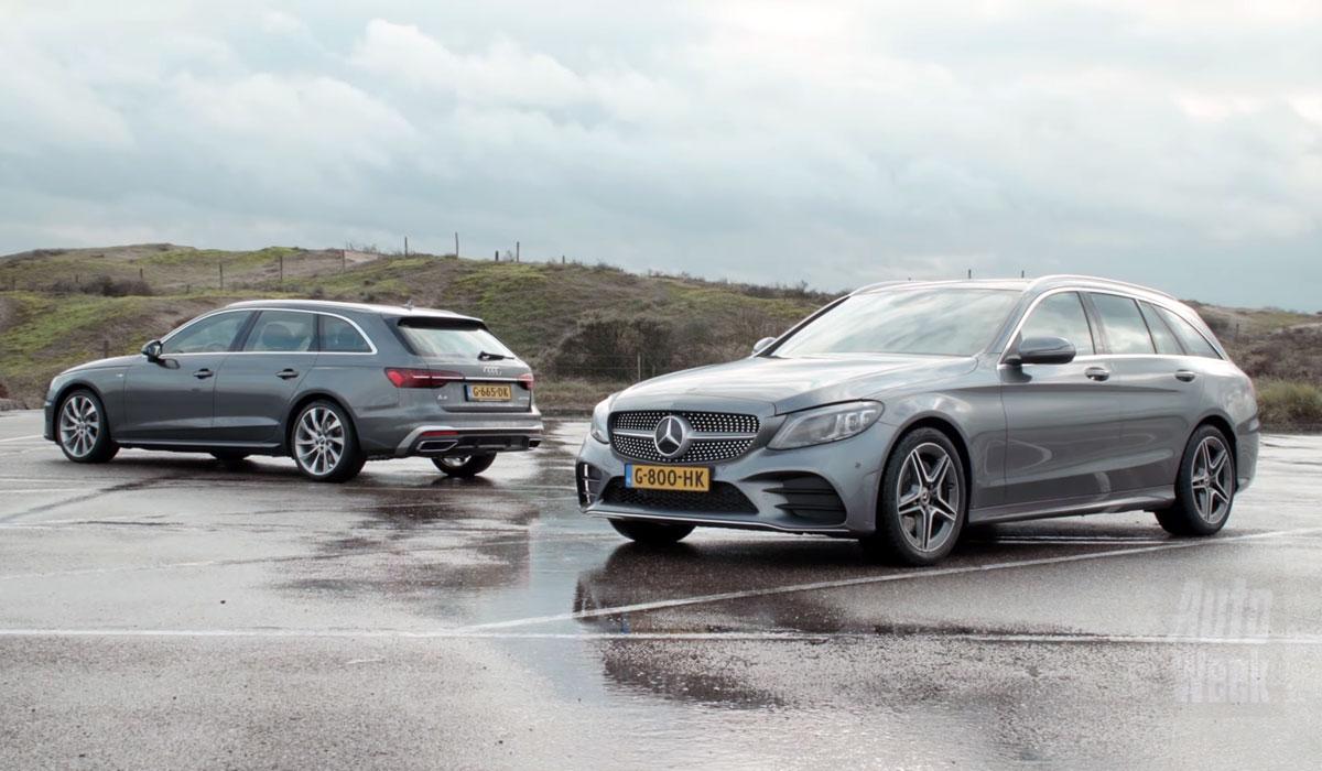 Audi A4 Avant vs. Mercedes C-klasse Estate