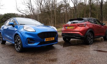 Test Ford Puma vs. Nissan Juke