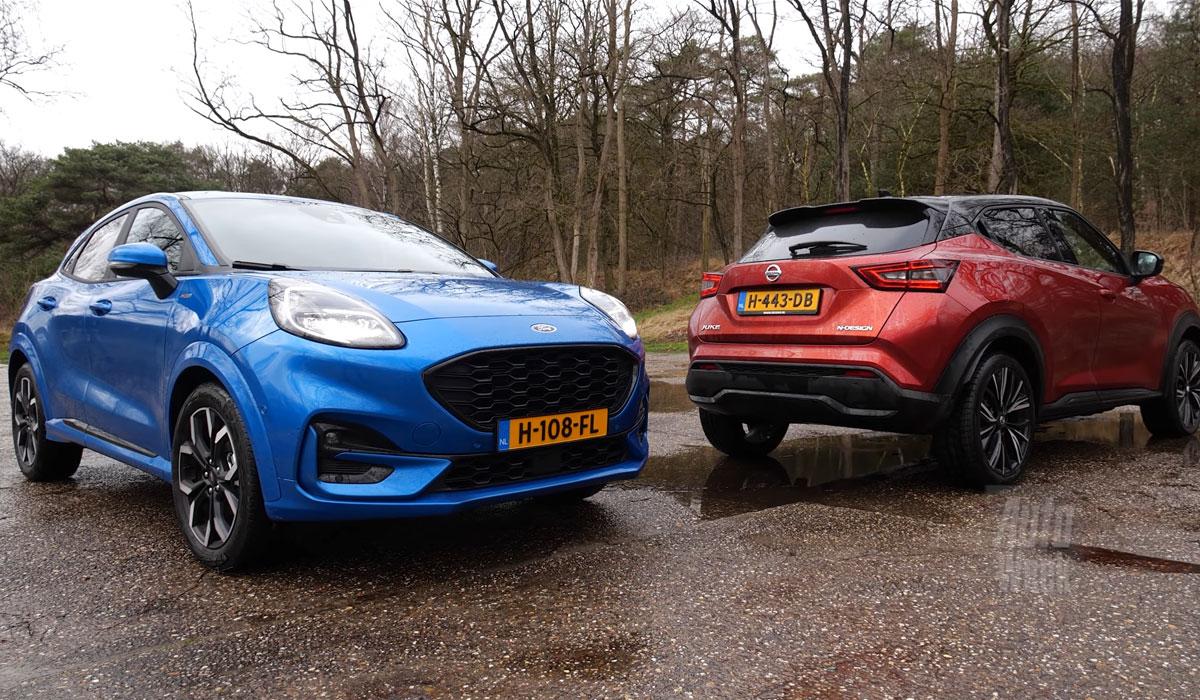 Test Ford Puma vs. Nissan Juke