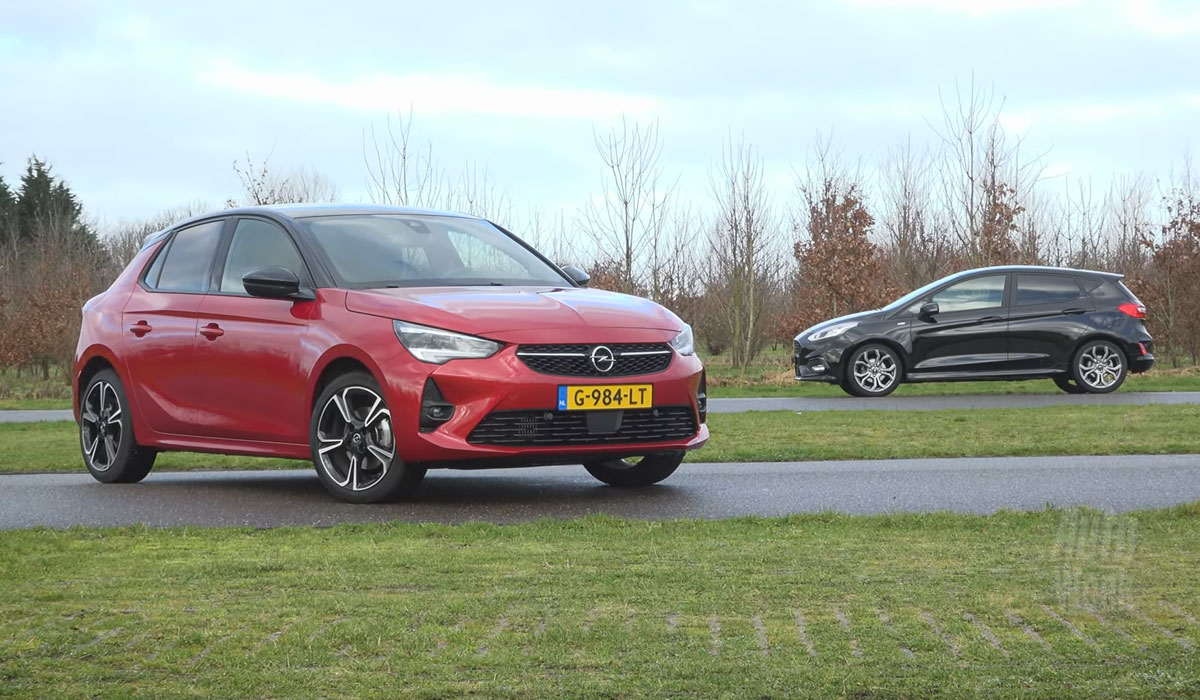 Opel Corsa vs. Ford Fiesta 2020