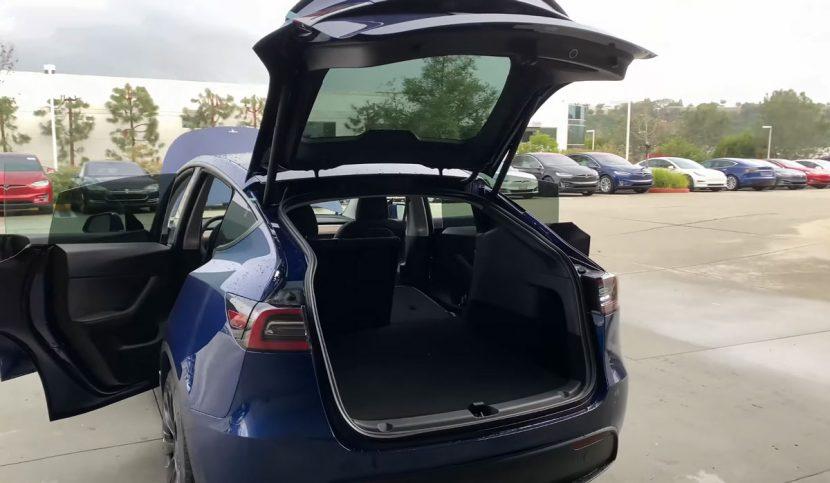 Achterklep Tesla Model Y