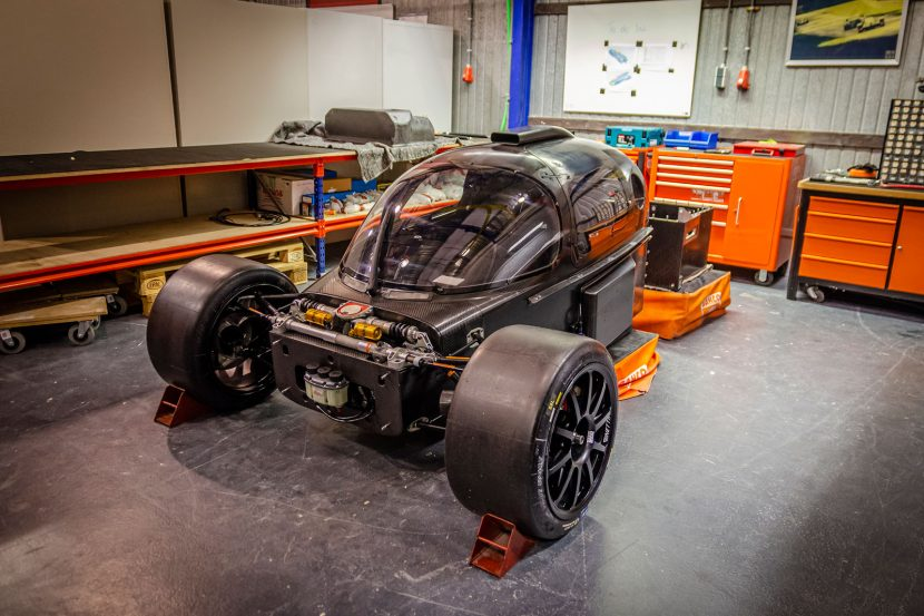 Chassis Le Mans-racewagen InMotion