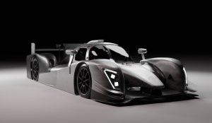 Render elektrische Le Mans-racewagen InMotion 1