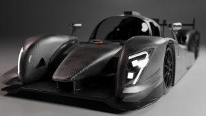 Render elektrische Le Mans-racewagen InMotion