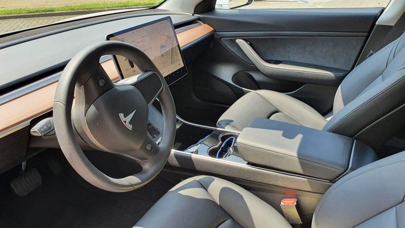 Interieur Tesla Model 3