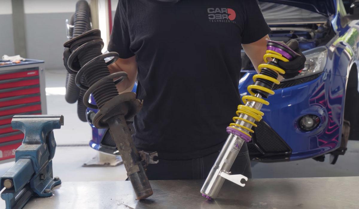 Schroefset vervangen Ford Focus RS