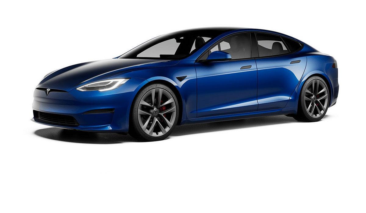 Tesla Model S Plaid+ 2021