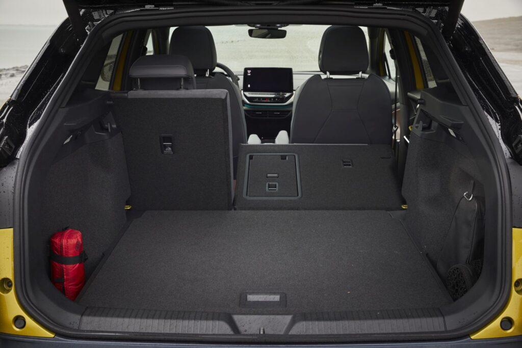 Bagageruimte, deel neergeklapt Volkswagen ID4