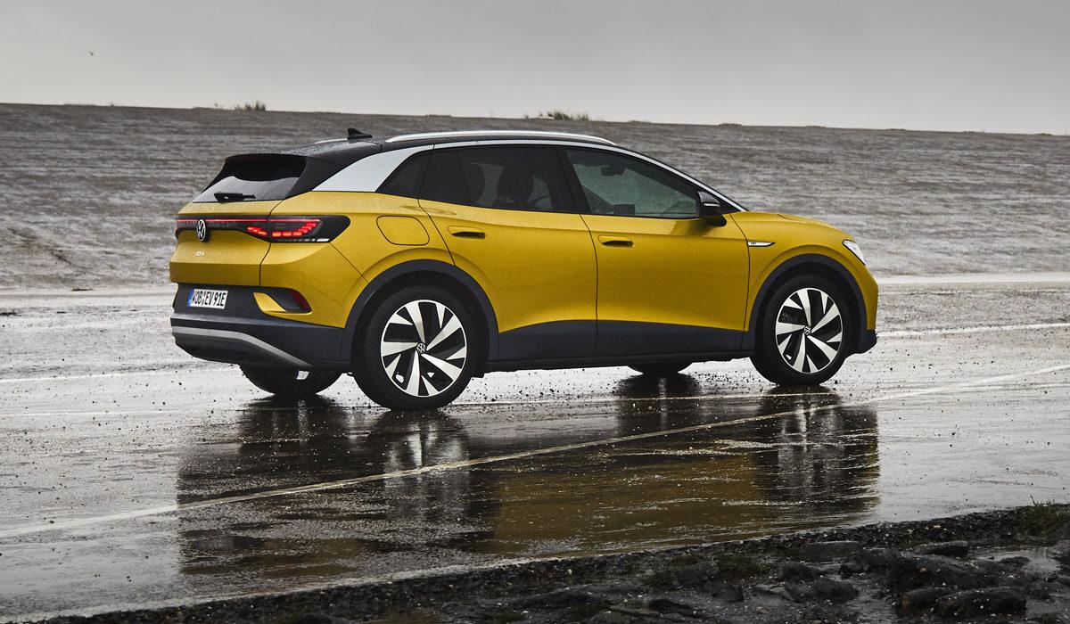 Volkswagen ID4 1st (Honey Yellow) 2021