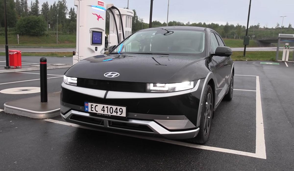 Test Hyundai Ioniq 5 charging