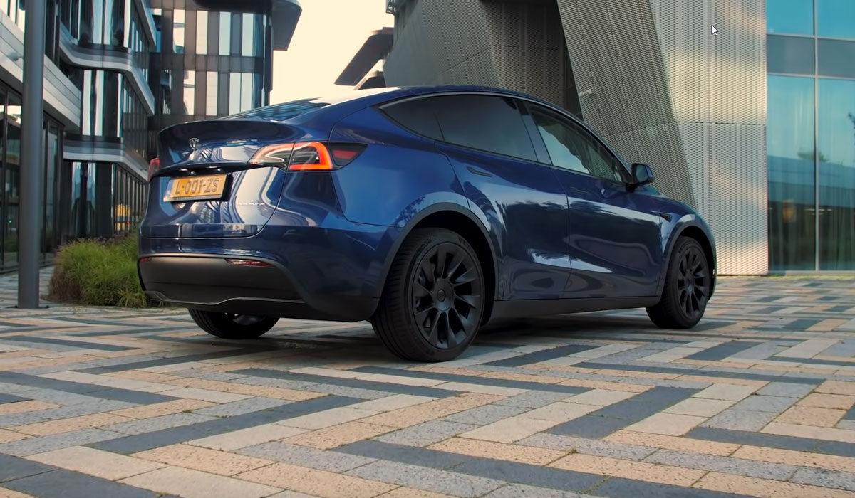 Test Tesla Model Y Long Range 2021